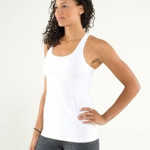 lululemon athletica | White Energy Tank